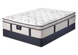 Eastport Super Pillow Top Queen Mattress w/ Foundation